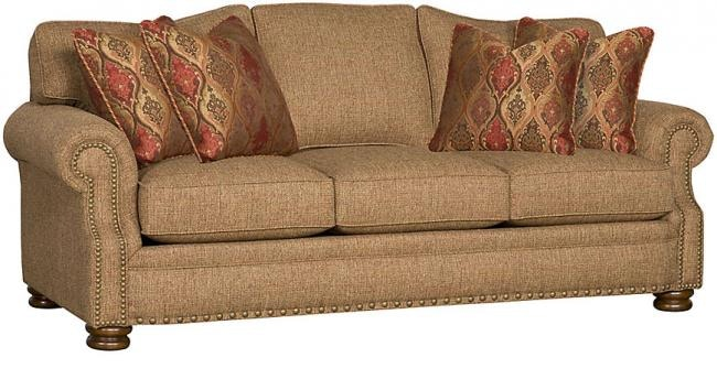 King Hickory Easton Fabric Sofa 1600