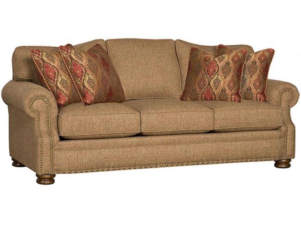 King Hickory Living Room Easton Fabric Sofa 1600 Good 39 S