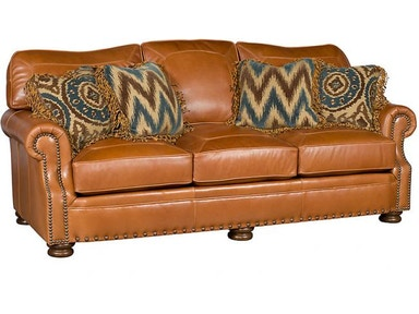 King Hickory Easton Leather Sofa 1600-L