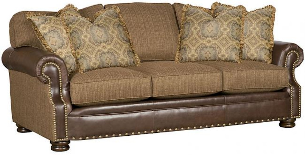 Wondrous King Hickory Living Room Easton Leather Fabric Sofa 1600 Lf Beutiful Home Inspiration Xortanetmahrainfo