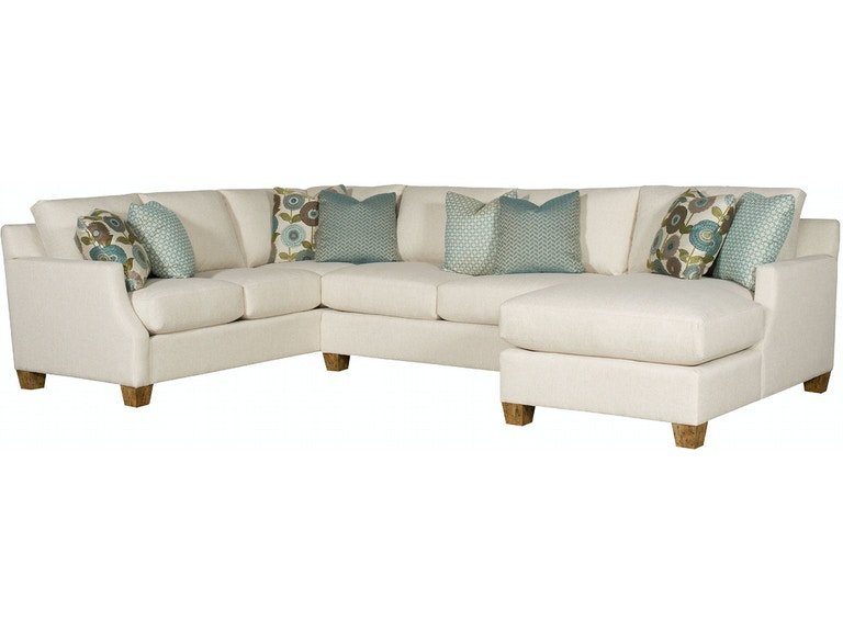 King Hickory Living Room Darby Sectional 2200 62 74 83 Tad F