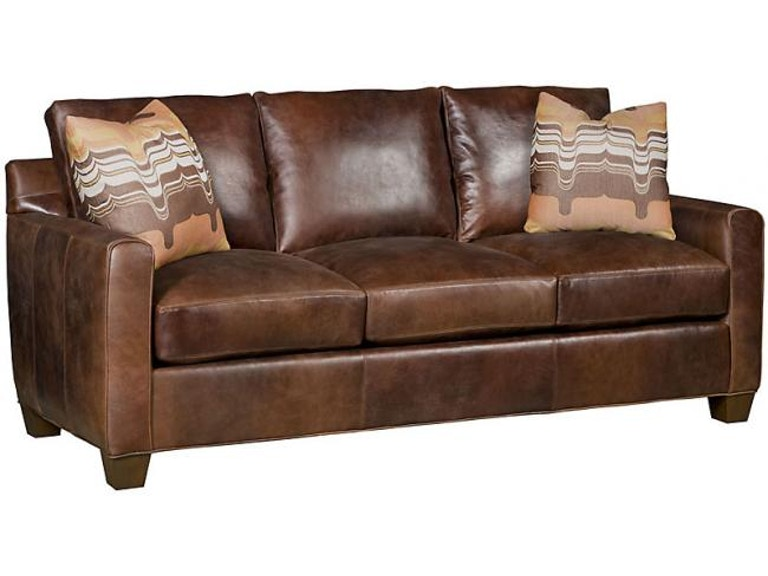 King Hickory Darby Leather Sofa 2200 Jbw L