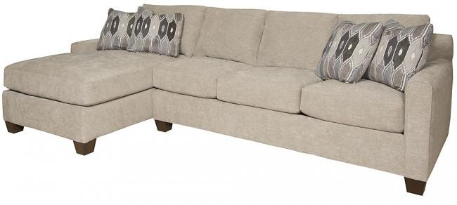 Hickory Manor Darby Left Arm Facing One Arm Chaise 2282 JBW F
