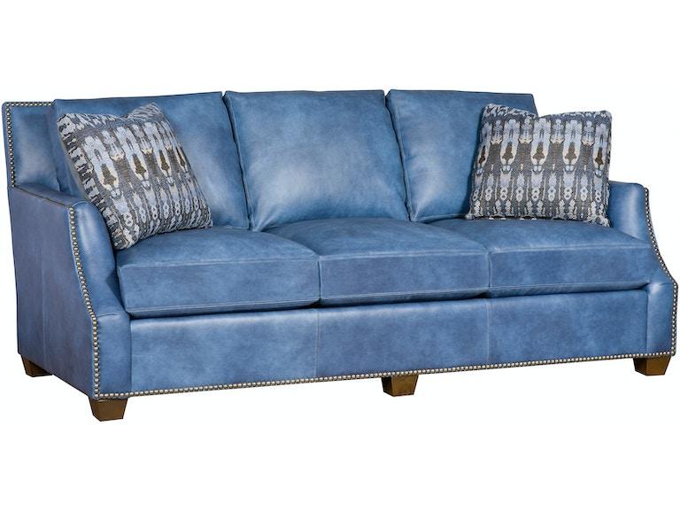 King Hickory Santiago Leather Sofa 2300-L