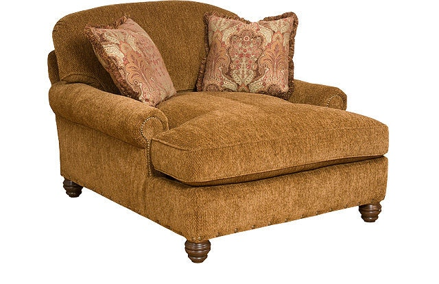 King Hickory Charlotte Chaise And A Half 260