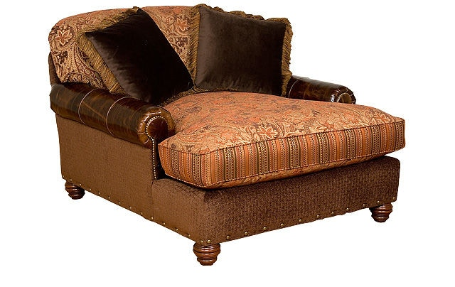 King Hickory Charlotte Chaise And A Half 260 LF