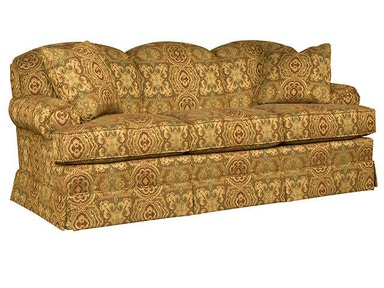 King Hickory Callie Fabric Sofa 2850