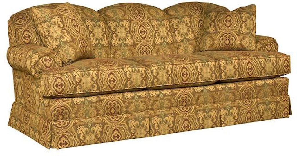 Miraculous King Hickory Callie Fabric Sofa 2850 Inzonedesignstudio Interior Chair Design Inzonedesignstudiocom