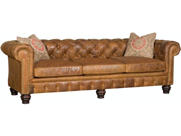 Awe Inspiring King Hickory Living Room Empire Leather Sofa 2900 L Inzonedesignstudio Interior Chair Design Inzonedesignstudiocom