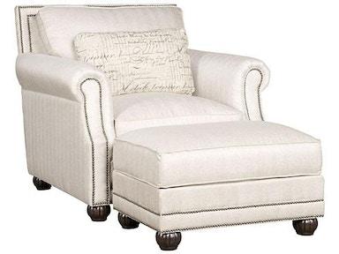 King Hickory Living Room Julianna Fabric Sofa 3000 Louis