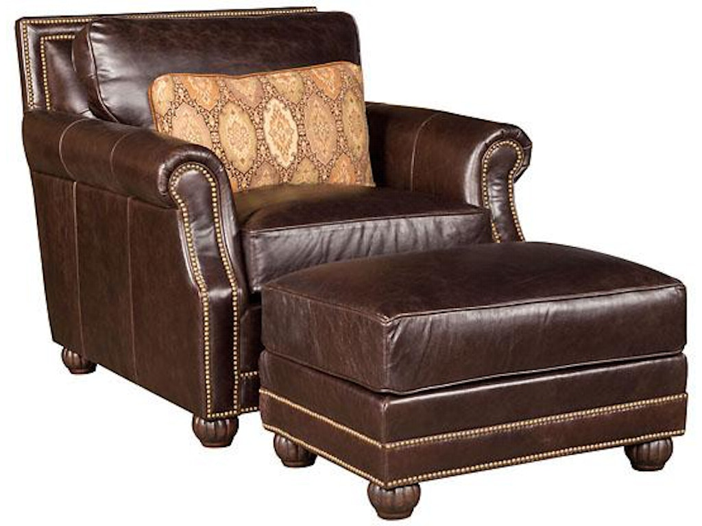 King hickory living room julianna leather chair 3001 l for Q furniture beaumont texas