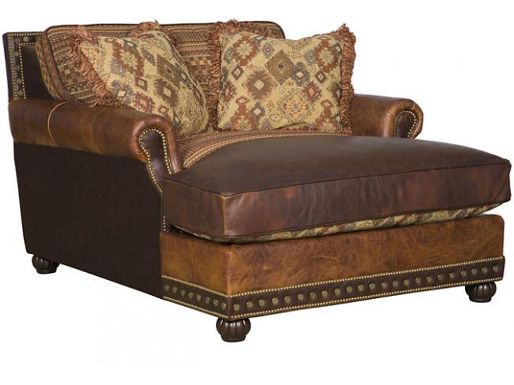 King hickory living room julianna chaise and a half 3060 for Chaise and a half