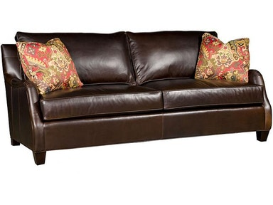King Hickory Santa Cruz Leather Sofa 3200-L