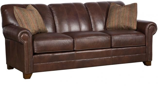 King Hickory Angelina Leather Sofa 3600 L