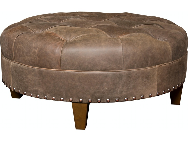 Wondrous King Hickory Living Room Capital Circular Large Ottoman With Ncnpc Chair Design For Home Ncnpcorg