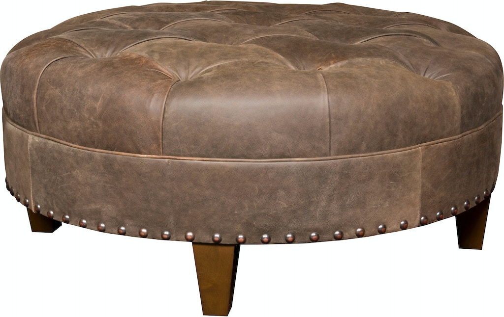 Peachy King Hickory Living Room Capital Circular Large Ottoman With Gmtry Best Dining Table And Chair Ideas Images Gmtryco