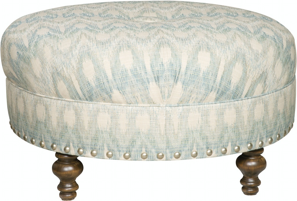 Excellent King Hickory Living Room Capital Circular Medium Ottoman Gmtry Best Dining Table And Chair Ideas Images Gmtryco