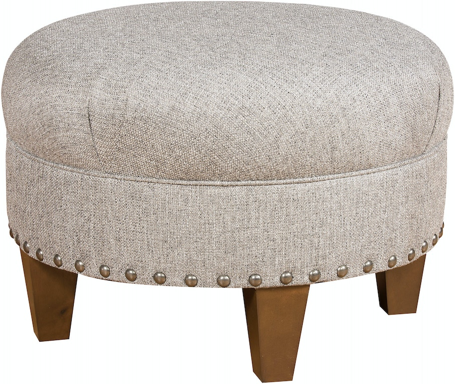 Fantastic King Hickory Living Room Capital Circular Small Ottoman With Gmtry Best Dining Table And Chair Ideas Images Gmtryco