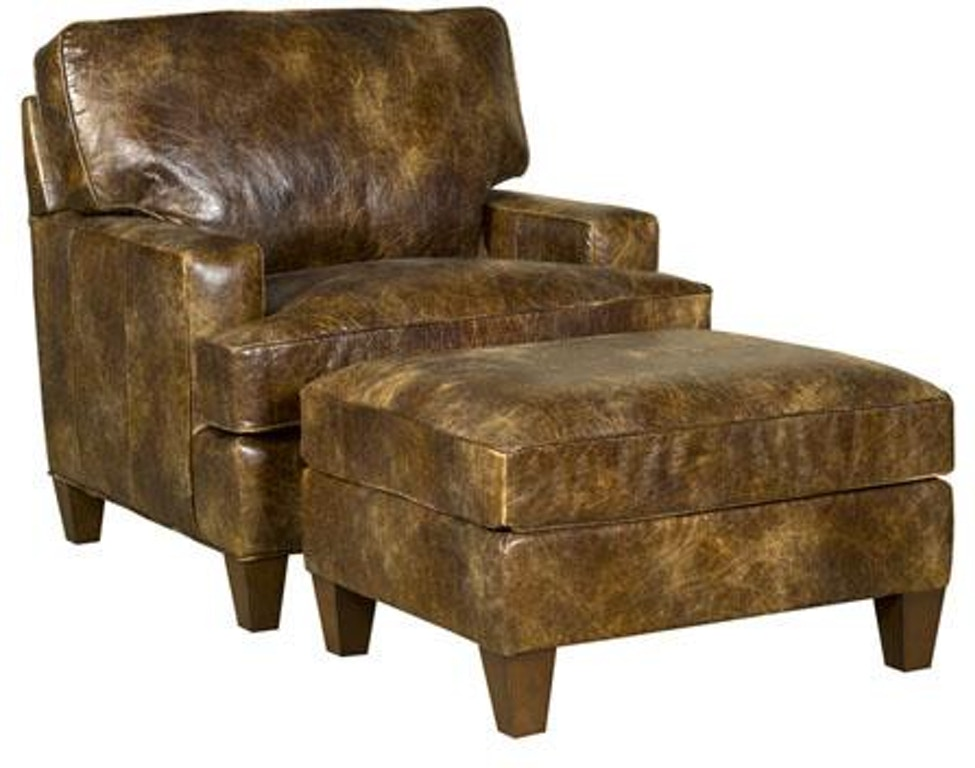 Tremendous King Hickory Living Room Chatham Ottoman With Track Arm Machost Co Dining Chair Design Ideas Machostcouk