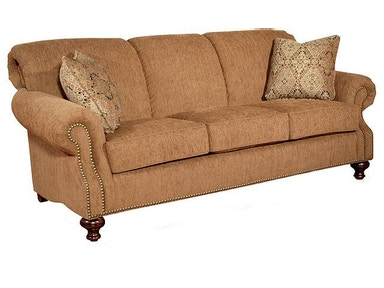King Hickory Lana Fabric Sofa 4200