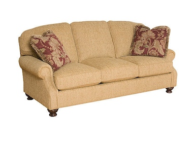 King Hickory Bailey Fabric Sofa 4350