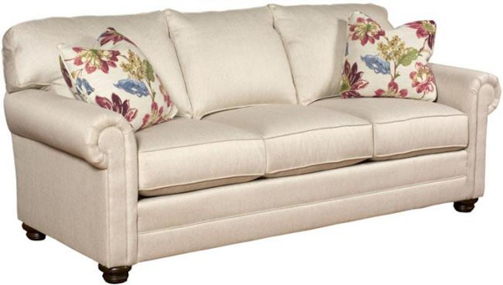 King Hickory Bentley Fabric Sofa With