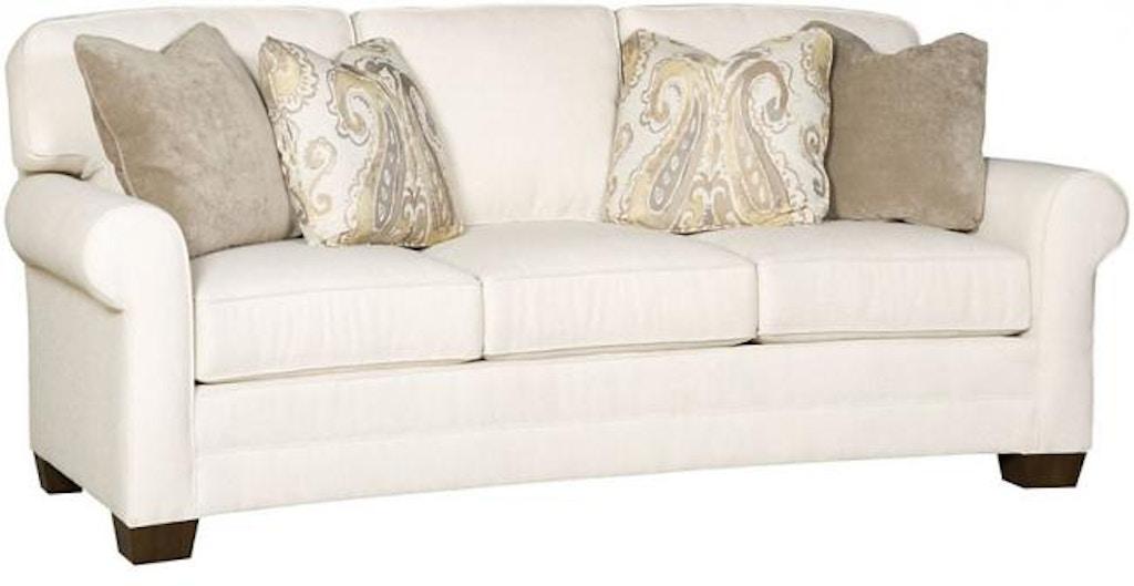 Enjoyable King Hickory Living Room Bentley Crescent Sofa 4435 Slm F Inzonedesignstudio Interior Chair Design Inzonedesignstudiocom