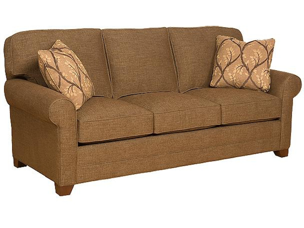 King Hickory Living Room Bentley Queen Sleeper Sofa 4440 Tlm F Hampton House Furniture