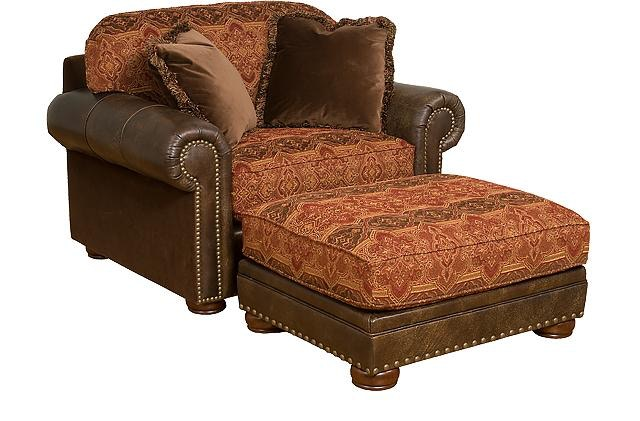 Hickory Bedroom Furniture King Hickory Living Room Ricardo Leather Fabric Chair And