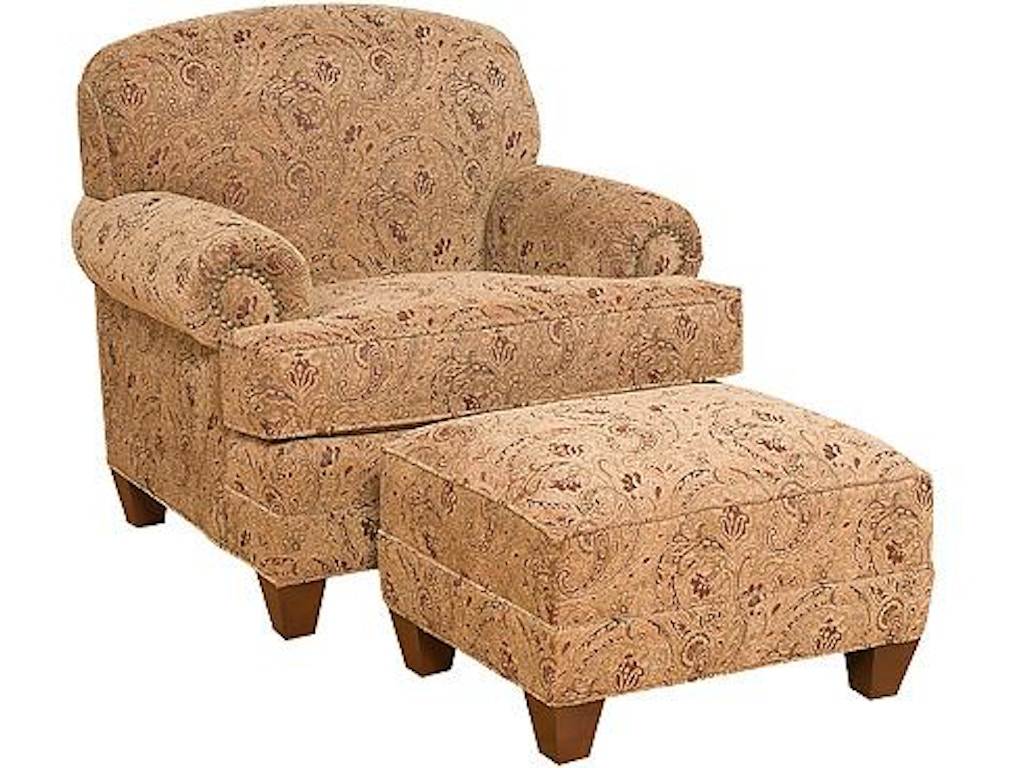 King Hickory Living Room Callie Chair 5051 Hickory