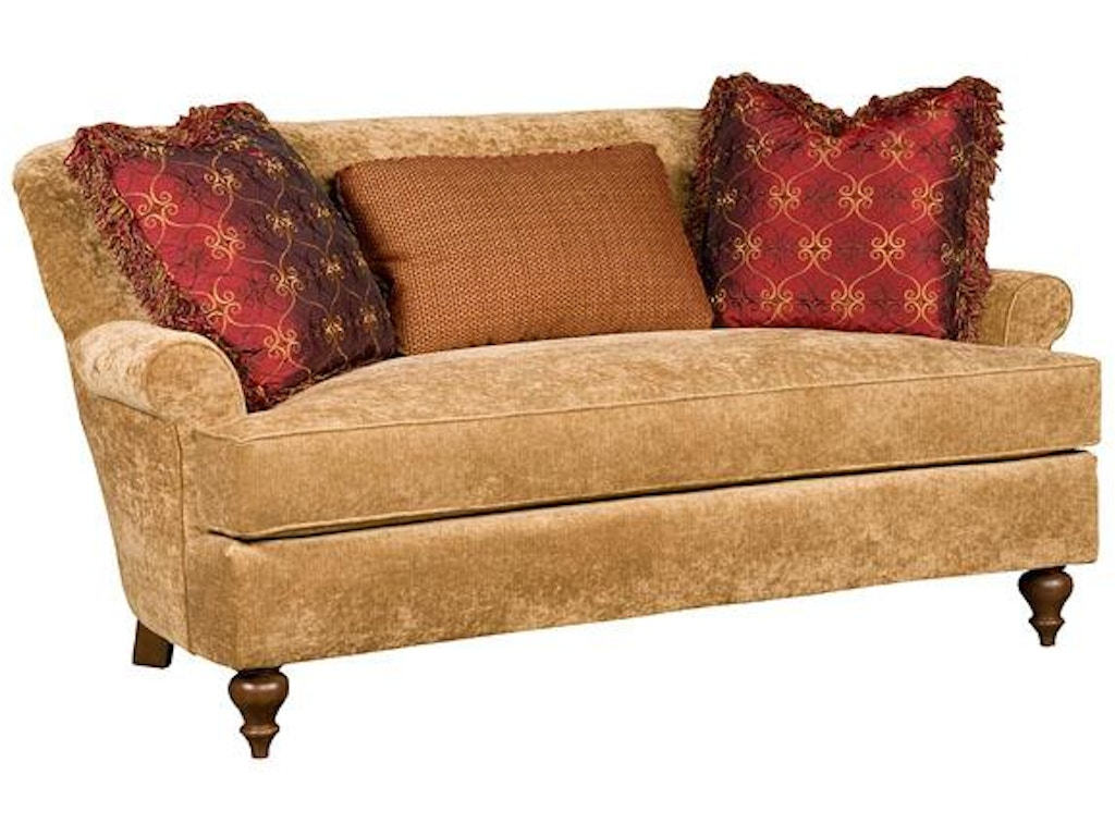 Hickory Manor Living Room Cuddle Settee 5100 Grace Furniture Marcy Ny