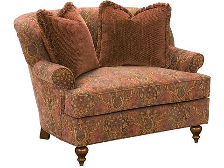 King Hickory Living Room Cuddle Chair And A Half Sku 5101 Is Available At Furniture Mart