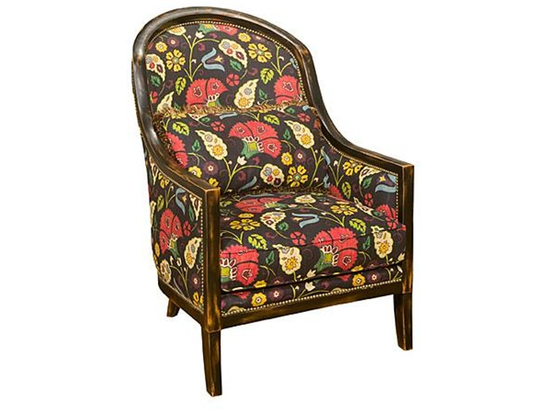 King Hickory Living Room Kirkland Fabric Chair W 421 Bennington