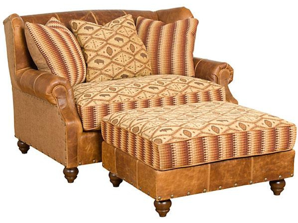 Hickory Manor Living Room Lucy Leather Fabric Settee 55250 Lf Grace Furniture Marcy Ny