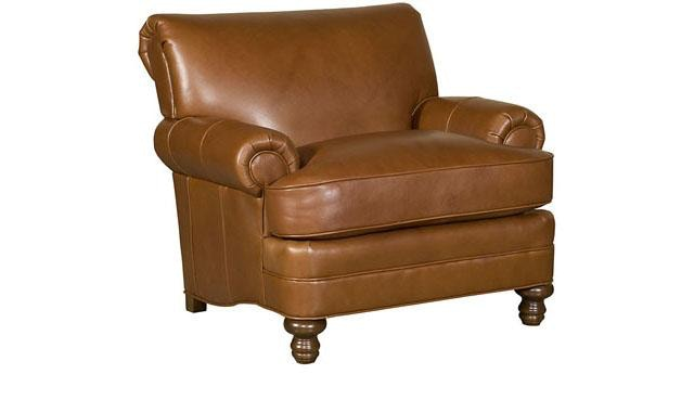 King Hickory Amanda Leather Chair 5651 L