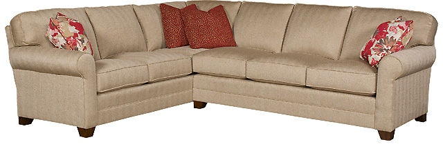 King Hickory Bentley Fabric Sectional 4400-SECT  sc 1 st  B.F. Myers Furniture : king hickory sectional - Sectionals, Sofas & Couches