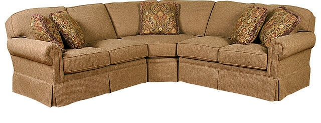 4400-SECT. Bentley Fabric Sectional  sc 1 st  Woodleyu0027s Fine Furniture : king hickory sectional - Sectionals, Sofas & Couches