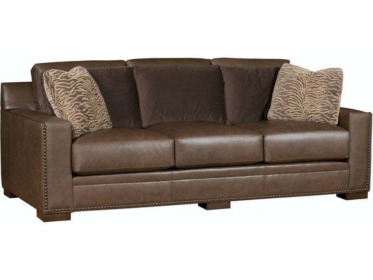 King Hickory Living Room California Leather Sofa 5800-L ...