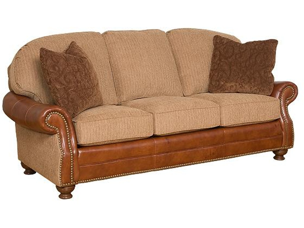 Hickory Manor Living Room Boston Leather Fabric Sofa 58450 Lf Grace Furniture Marcy Ny