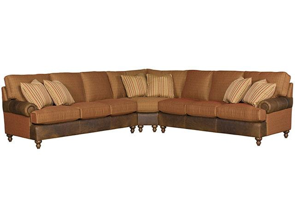 King Hickory Chatham Left Arm Facing One Arm Sofa With