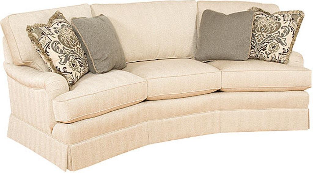 Superb King Hickory Chatham Conversation Sofa With English Arm Machost Co Dining Chair Design Ideas Machostcouk