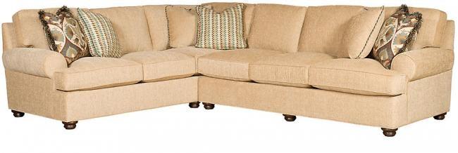 king hickory living room henson left arm facing corner sofa with rh inspirationsbr com