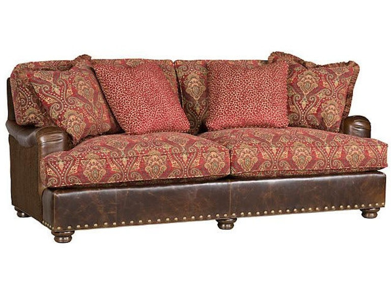 King Hickory Living Room Henson Sofa Chaise With English