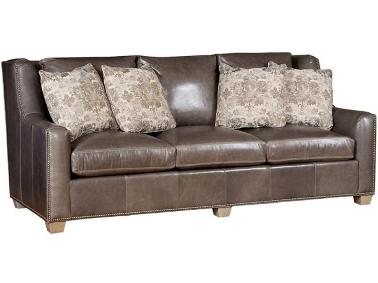King Hickory Drake Leather Sofa 6200 33g L