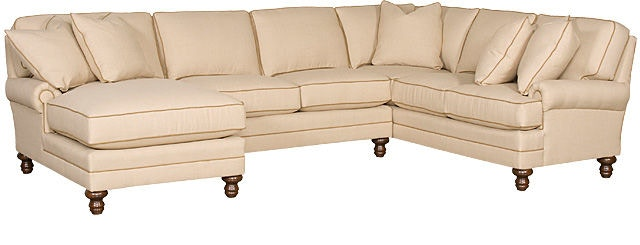 King Hickory Living Room Kelly Sectional 1200 Sect