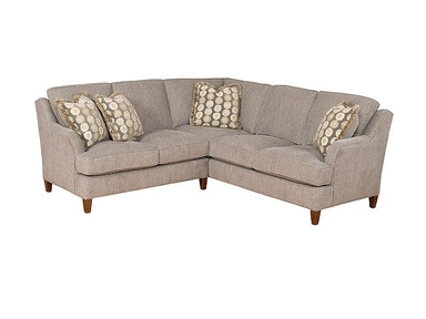 King Hickory Melrose Fabric Sectional 1400-SECT
