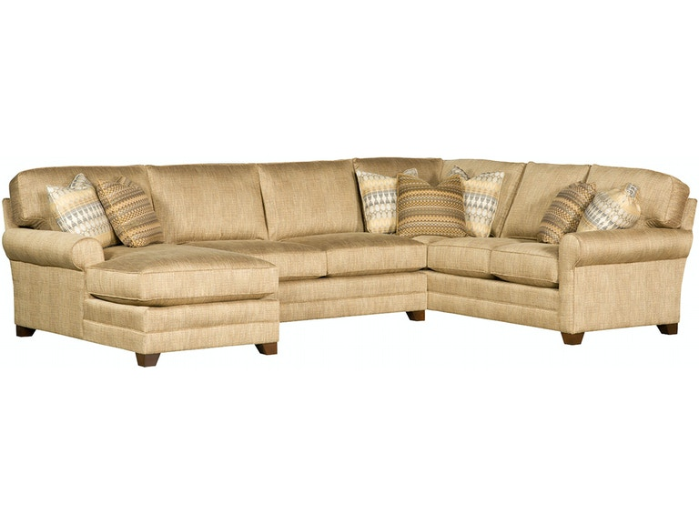 King Hickory Winston Sectional 7400 82 74 63
