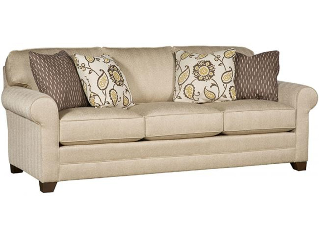 Enjoyable King Hickory Living Room Winston Fabric Sofa With Sock Arm Squirreltailoven Fun Painted Chair Ideas Images Squirreltailovenorg