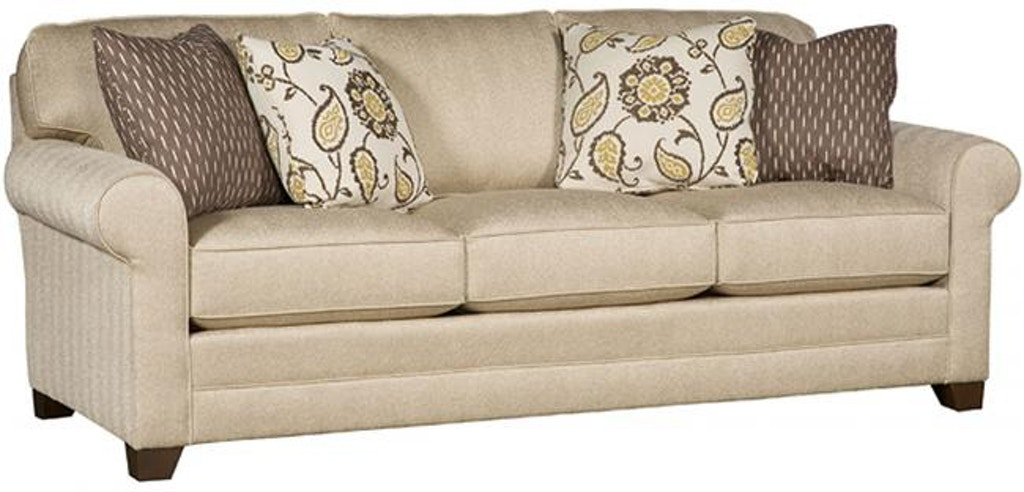 Strange King Hickory Winston Fabric Sofa With Sock Arm Attached Gmtry Best Dining Table And Chair Ideas Images Gmtryco