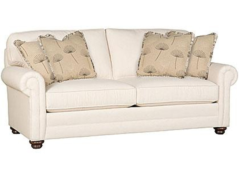 King Hickory Winston Fabric Sofa 7475 Plt F